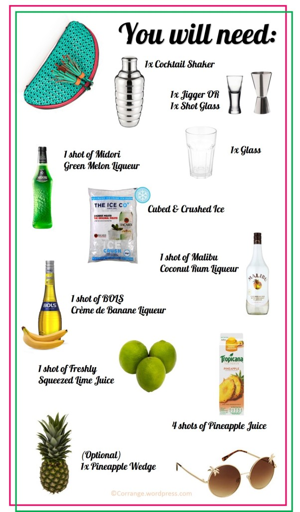 How to Make a June Bug - Ingredients