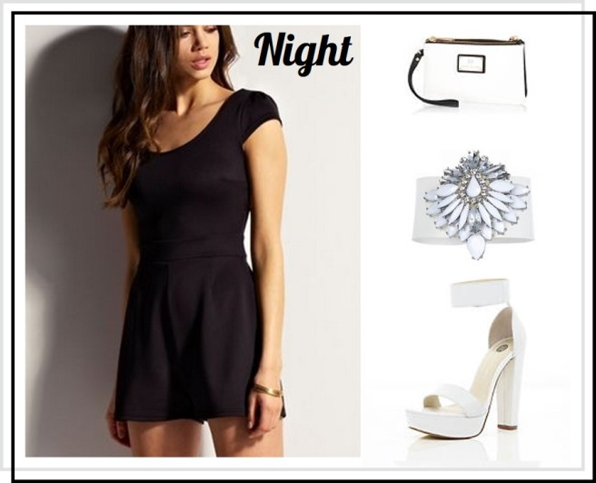 Lipsy Everyday Fashion Playsuit Outfit Night